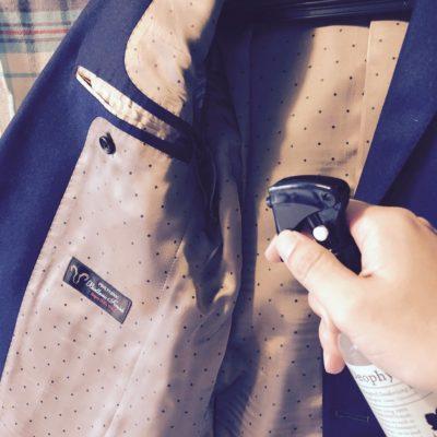 ジャケットやコートに